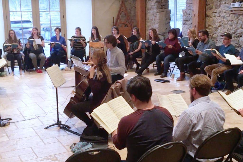 Messiah Rehearsal